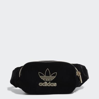Originals Sort Velvet bæltetaske