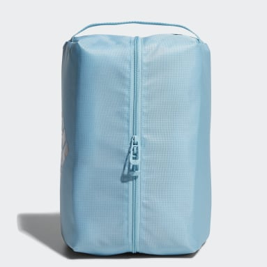 Men Golf Blue Shoe Bag