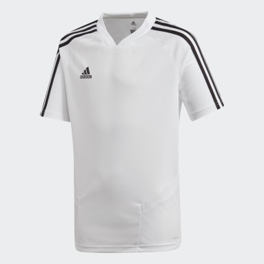 Camiseta entrenamiento Tiro 19 Blanco Niño Gimnasio Y Entrenamiento
