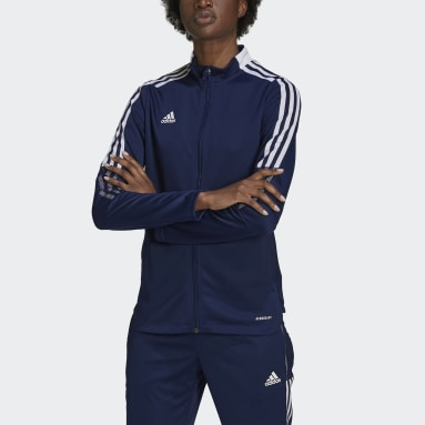 Women's Lifestyle Blue Tiro 21 Track Jacket