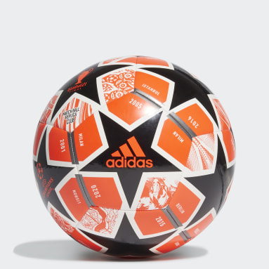 Men Soccer Orange Finale 21 20th Anniversary UCL Club Ball