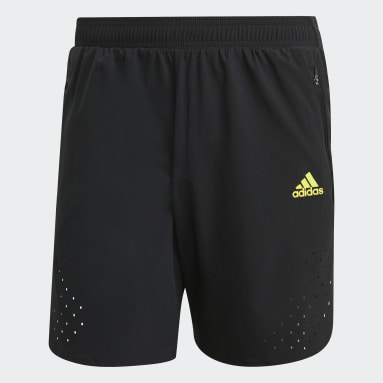 Men Running Black adidas Ultra Shorts