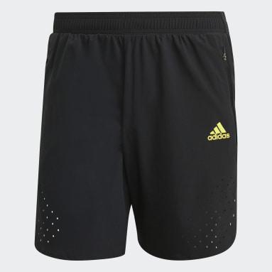черный Шорты для бега adidas Ultra