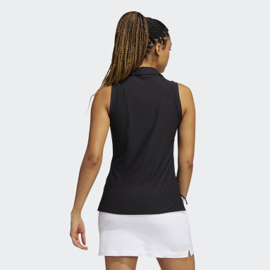 Polo Go-To Primegreen Sleeveless noir Femmes Golf