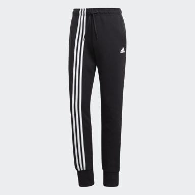 Pantalón Must Haves 3 bandas Negro Mujer Sportswear