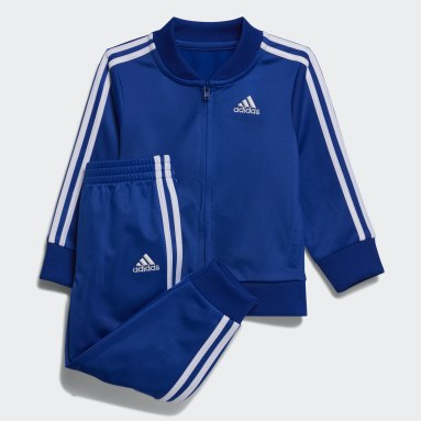 Children Training Blue Classic Jacket and Joggers Set