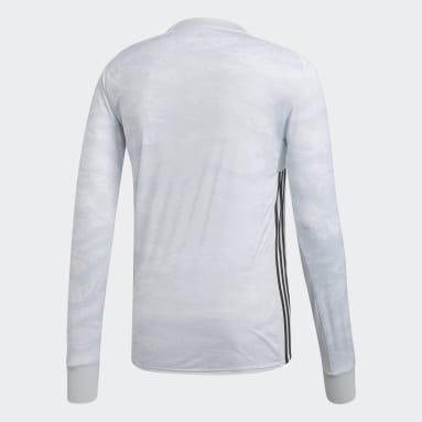 Men Football Grey AdiPro 18 Goalkeeper Jersey