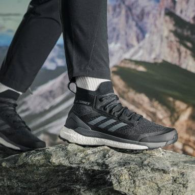 Sapatos de Caminhada Free Hiker TERREX Preto TERREX