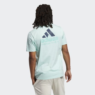 Men's Sportswear Turquoise Summer Pocket Tee