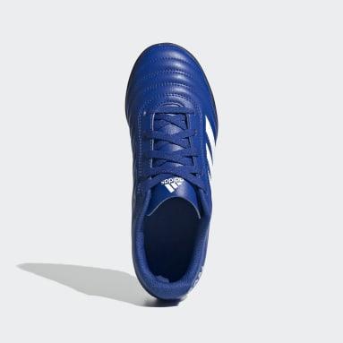 Calzado de fútbol Copa 20.4 Pasto Sintético Azul Niño Fútbol