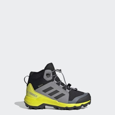 Kids TERREX Black Terrex Mid GORE-TEX Hiking Shoes