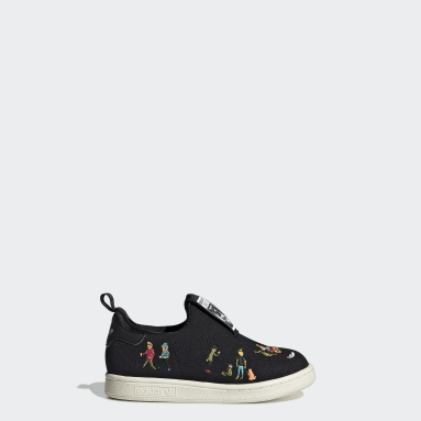 Tenis Stan Smith 360 (UNISEX) Negro Niño Originals