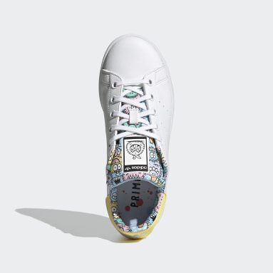 Youth 8-16 Years Originals White adidas x Kevin Lyons Stan Smith Shoes