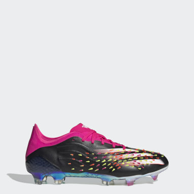 Football Black PREDCOPX Firm Ground Boots