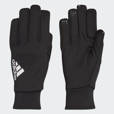 Fußball Feldspieler-Handschuhe Schwarz
