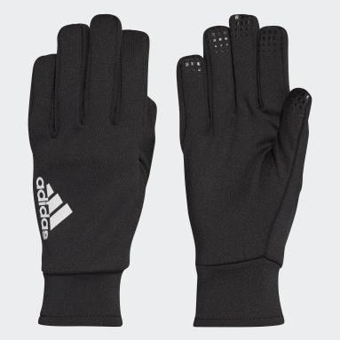 Football Black Fieldplayer Goalkeeper Gloves