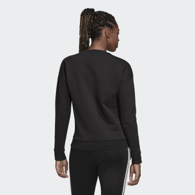 Women Sportswear Black Must Haves Graphic Sweatshirt
