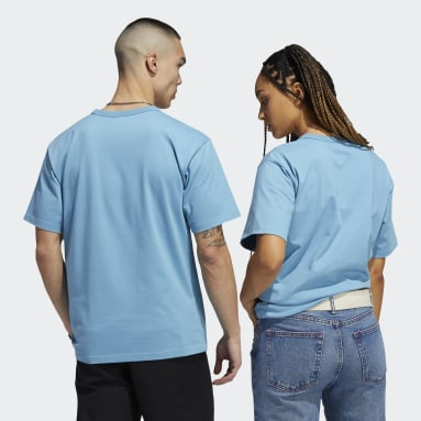Originals Blue Heavyweight Shmoofoil Shirt (Gender Neutral)