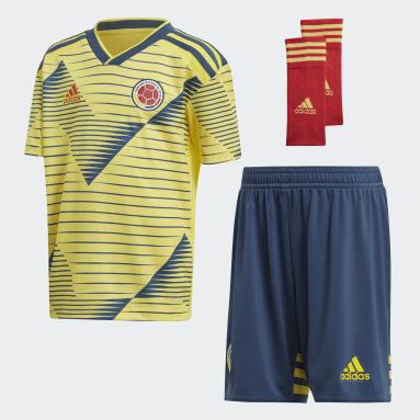 Mini Uniforme Titular Selección Colombia Amarillo Niño Fútbol