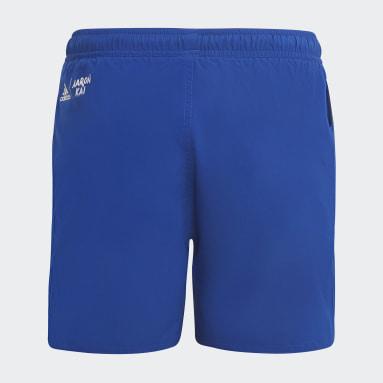 Kluci Plavání modrá Šortky Aaron Kai Primeblue