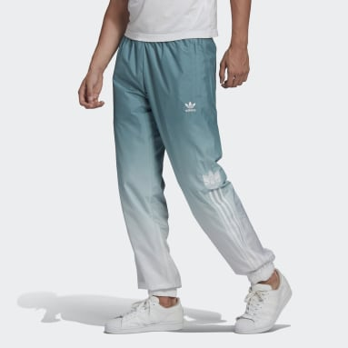 Track pants adicolor 3D Trefoil 3-Stripes Ombré Bianco Uomo Originals