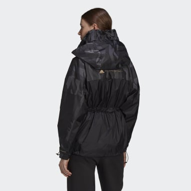 Women adidas by Stella McCartney Black adidas by Stella McCartney TruePace Jacquard Jacket