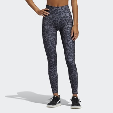 Frauen Fitness & Training Believe This Graphic Lange Tight Grau