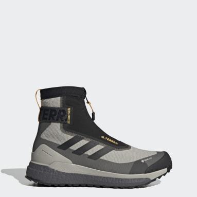 Chaussure de randonnée Terrex Free Hiker COLD.RDY Gris Hommes TERREX