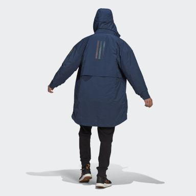 Herr City Outdoor Blå MYSHELTER 4IN1 Parka