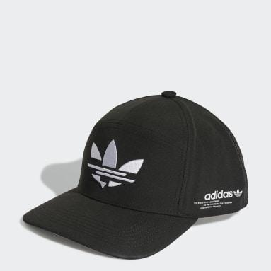 Originals สีดำ หมวกแก๊ปสแนปแบ็ค Adicolor