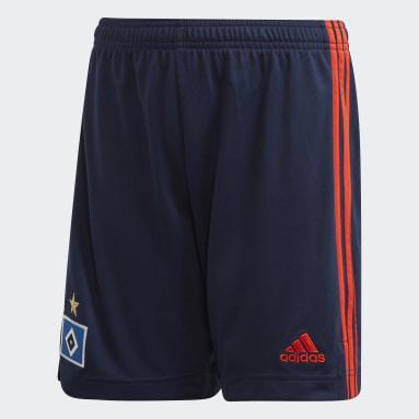 Kids Football Blue Hamburger SV 20/21 Away Shorts