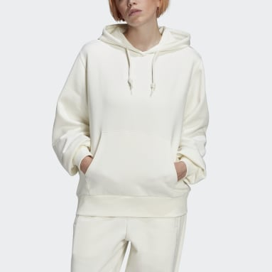 Women Originals White Hoodie