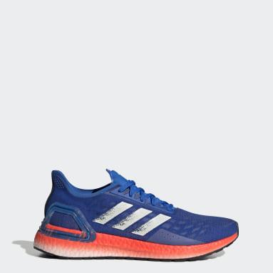 Chaussure Ultraboost PB Bleu Course