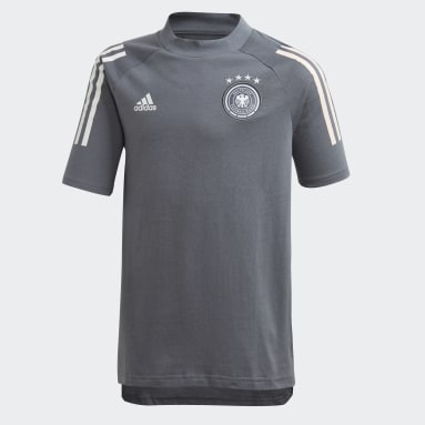 Kinder Fußball DFB T-Shirt Schwarz