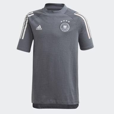 Kids Football Black Germany Tee