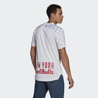 Men's Soccer White New York Red Bulls 21/22 Home Authentic Jersey