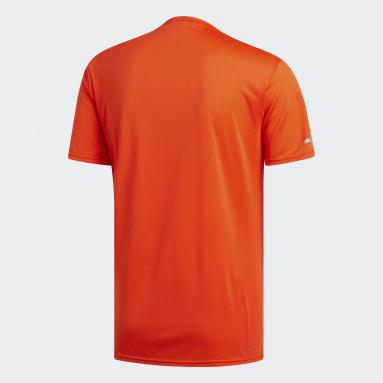Camiseta Run Naranja Hombre Running