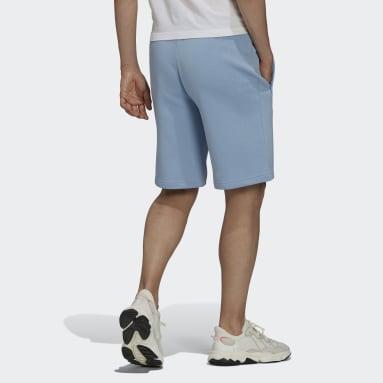 Men's Originals Blue Adicolor Classics MM Trefoil Shorts