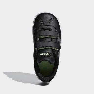 Bebek Sport Inspired Siyah VL Court 2.0 Ayakkabı