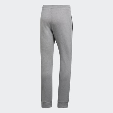Pantalón Trifolio - Tiro Medio Gris Hombre Originals