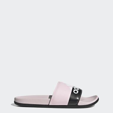 Yoga Pink Adilette Comfort Sandals