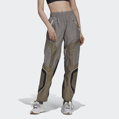 Pantalon de survêtement adidas by Stella McCartney Gris Femmes adidas by Stella McCartney