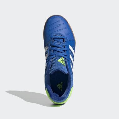 Kinderen Futsal Blauw Top Sala Sportschoenen