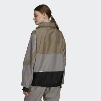 Veste de survêtement adidas by Stella McCartney Gris Femmes adidas by Stella McCartney