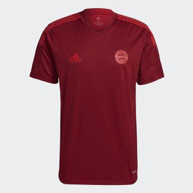 Men's Soccer Red FC Bayern Tiro Training Jersey