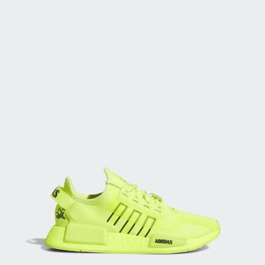 Chaussure NMD_R1 V2 jaune Adolescents Originals