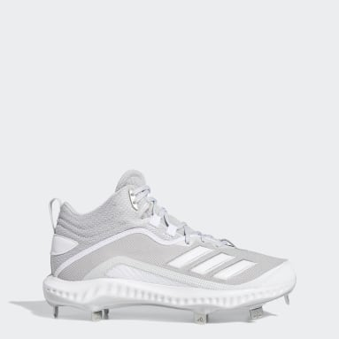 Men's Baseball Grey Icon 6 Bounce Mid Cleats