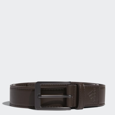 Men's Golf Brown Stretch Belt