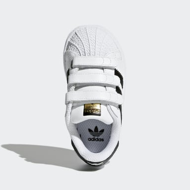Infant Originals White Superstar Shoes