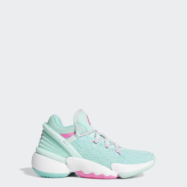 Youth Basketball Turquoise D.O.N. Issue #2 Shoes